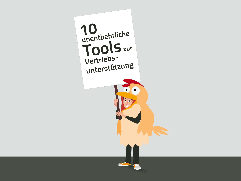 10 unentbehrliche Tools zur Vertriebsunterstützung